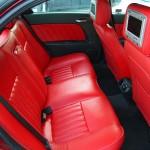 Alfa Romeo nahkistmed, uksepolstrid, Alcantara lagi ja muud salongidetailid
