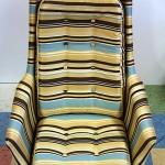Triibulise tooli katteriide vahetus